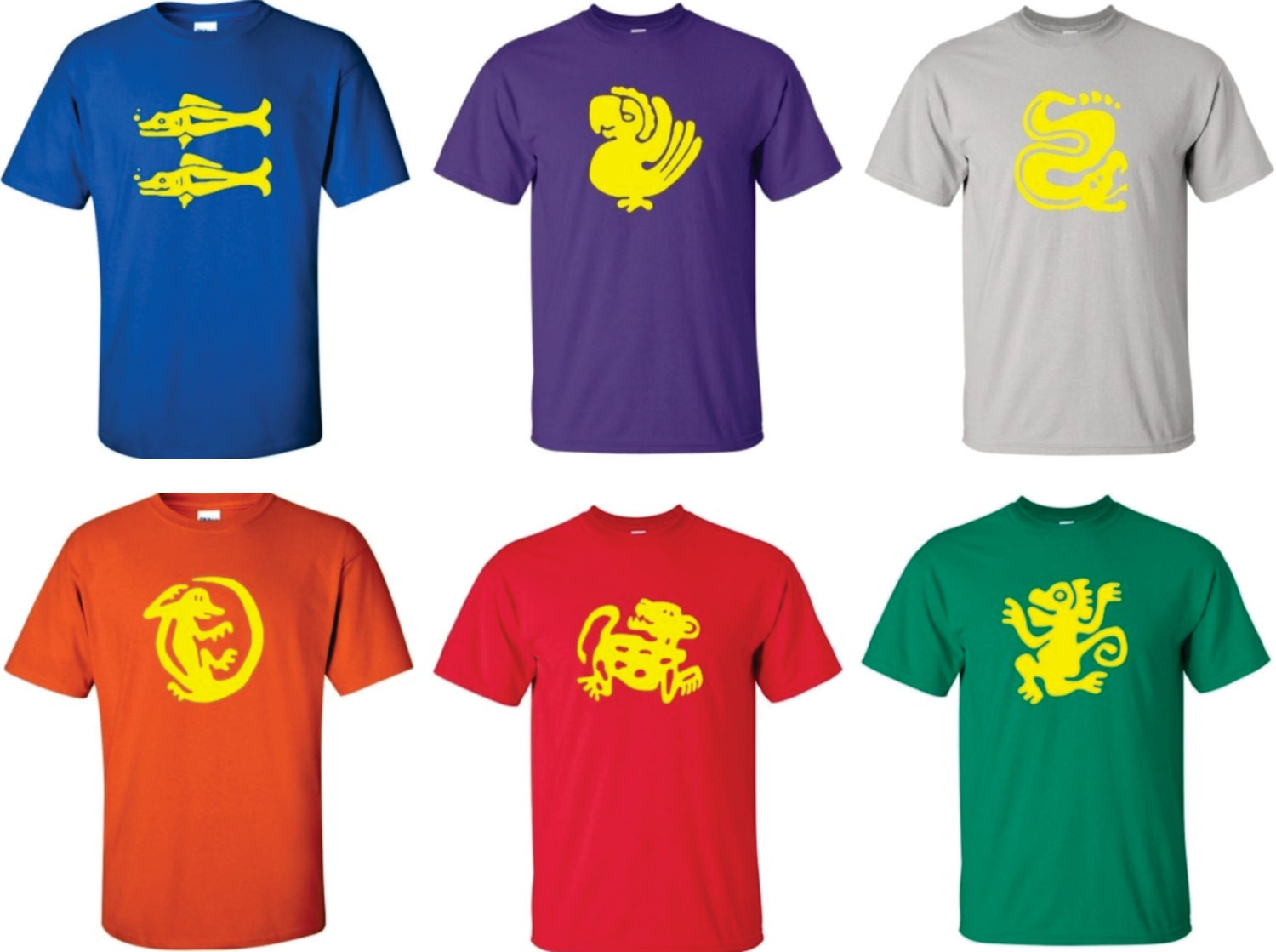 full set of legends of the hidden temple t shirts you get etsy
