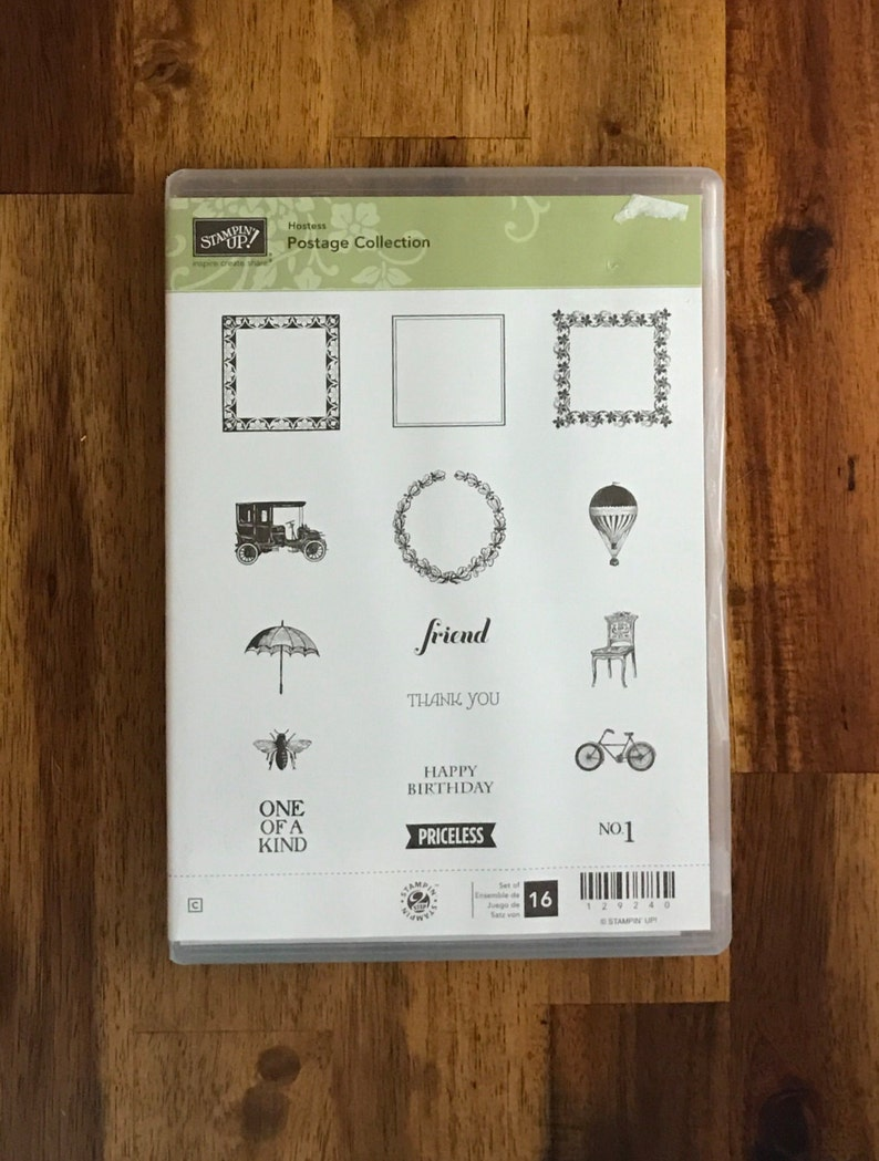 Postage Collection Stampin/' UP FREE SHIPPING!