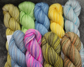 Baby Alpaca/Silk Lace Wt. Yarn (Lots 727 - 735),  800 yd, 4.3 oz