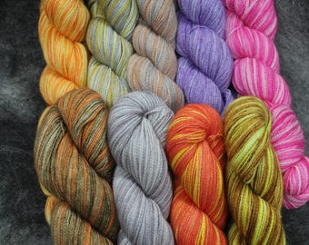 Baby Alpaca/Silk Lace Wt. Yarn (Lots 718 - 726), 800 yd, 4.3 oz