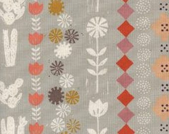 1/2 yard SUNSHINE By Alexia Abegg  for Cotton and Steel Collage Grey