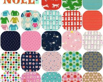 Fat Quarter Bundle (23) NOEL Collaborative by Cotton and Steel Fat Quarters