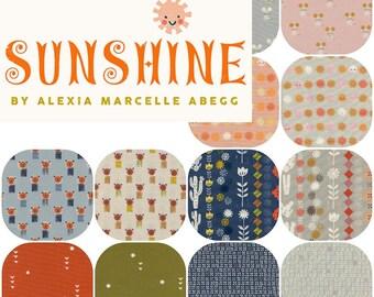 Half Yards SUNSHINE(12) By Alexia Abegg  for Cotton and Steel Rain Half Yard Bundle