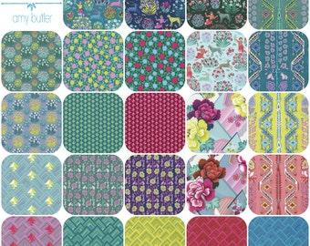 Fat quarter Bundle(24) of SPLENDOR by Amy Butler for Free Spirit Fabrics Fat Quarters