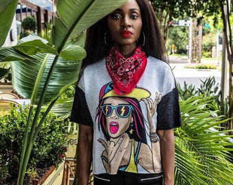 Afro Trendy Tee - LIMITED