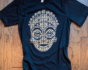 Tribal Mask Shirt (Unisex) Africa t-shirt, I love Africa shirt, Africa, Nigeria, Madagascar, Ghana, Liberia, South Africa