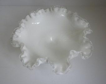 Fenton Silver Crest socle plat