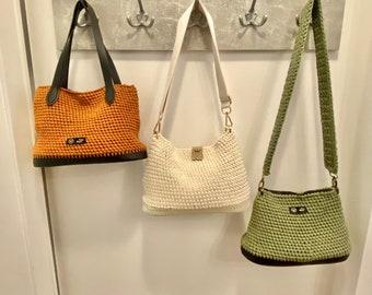 Crochet Bag Blocks handmade According to your wishes