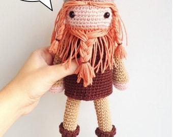 Viking Amigurumi Pattern, Viking Crochet Pattern, Crochet Viking ... | 270x340