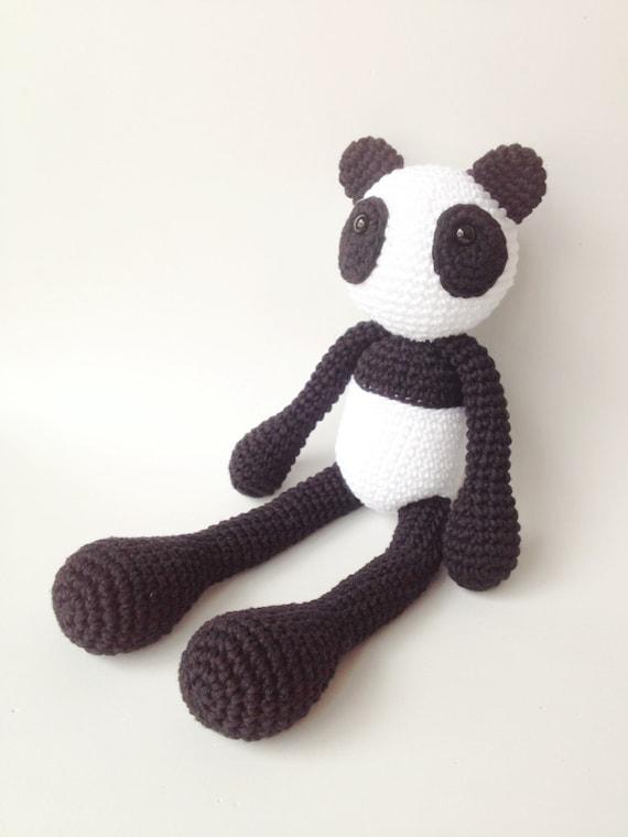 Peluche Oso Panda Muñeco Oso Panda Panda Peluche Panda | Etsy