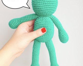 Amigurumi Frog Pattern, Crochet Frog Pattern, Frog Pattern, Frog Crochet Tutorial, Frog PDF Pattern