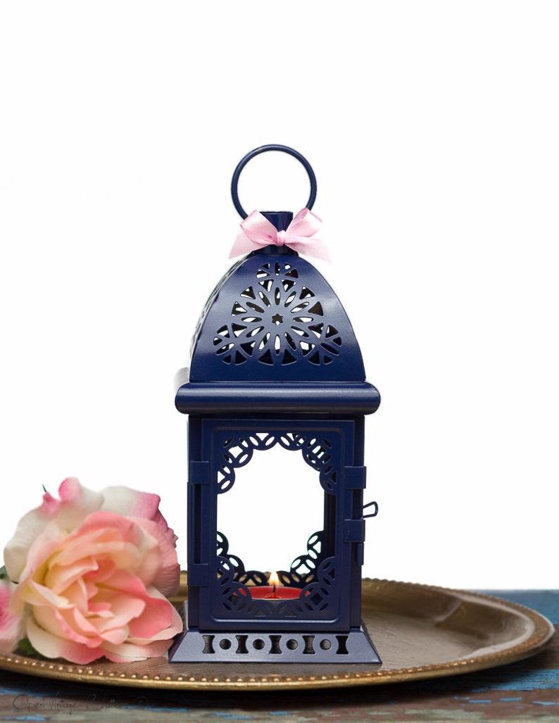 Nautical Wedding Centerpiece Decor Navy Blue Wedding Lantern Etsy