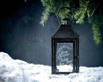 Personalized Lantern MOTHER'S DAY GIFT Desktop lamp Mothers day gift from daughter, Engagement gifts