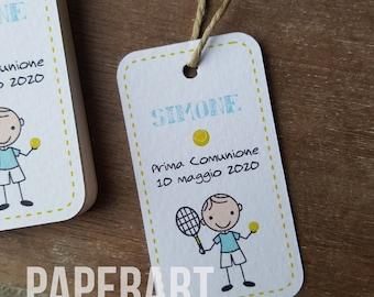 edizione testuale standard Palline da tennis personalizzate per adulti NTB