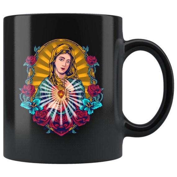 Our Lady of Guadalupe Catholic Mug Religious Virgin Saint Mary Gift
