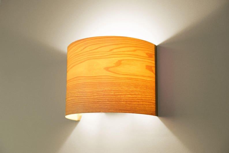 Éclairage contemporain applique murale applique lumineuse etsy