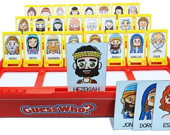 GUESS WHO? Bible Character Game Cards PDF Download