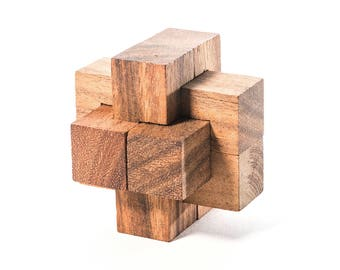 15 Piece Burr Puzzle Solution