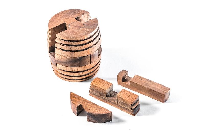 Kumiki Japanese Wooden Puzzles - Barrel Puzzle, Japanese interlocking  puzzle, Mechanical, wooden interlocking puzzles