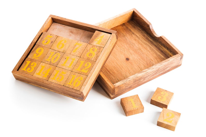 Slide 15 - wood Puzzle, brain Teaser, wood brain teaser, wooden brain  teaser puzzle