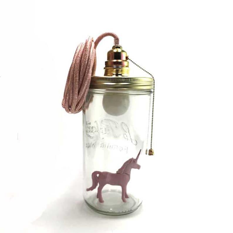 Licorne Lamp Le Bocal Allum\u00e9