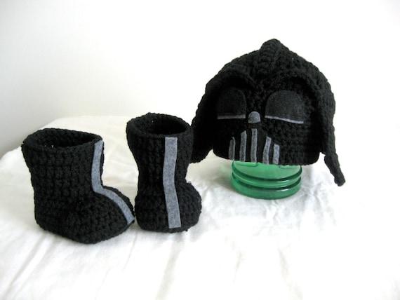 Star Wars Darth Vader Hut Und Schuh Häkeln Star Wars Darth Etsy