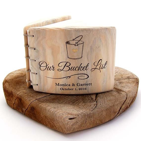 Anniversary Gift Lists By Year: 5th Anniversary Gift Bucket List COUPLES GIFT His And Hers