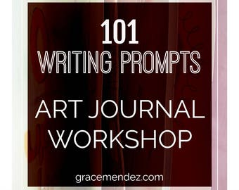 Writing Prompts Art Journal Workshop