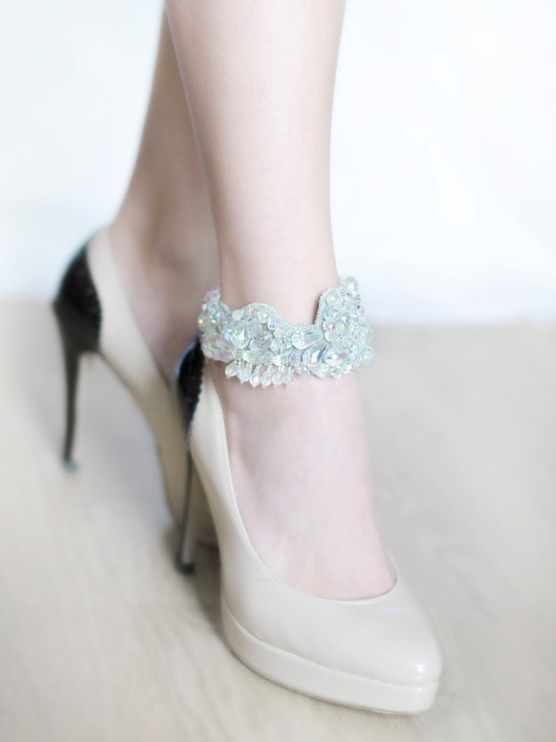 fc0150d7672 High heels women ankle jewelry wedding foot accessories