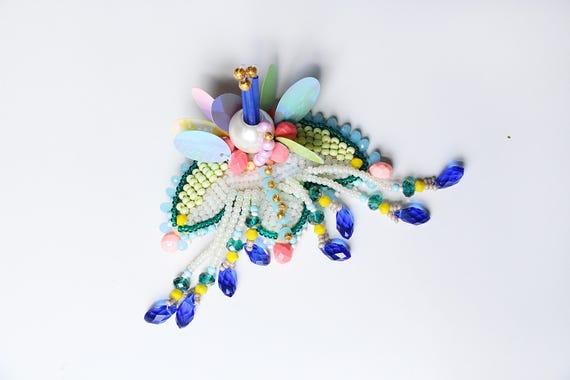 Pince à cheveux style japonais cheveux broche - attaches de cheveux cheveux accessoires - création de bijoux bijoux de tête - broche cheveux colorés - haute couture