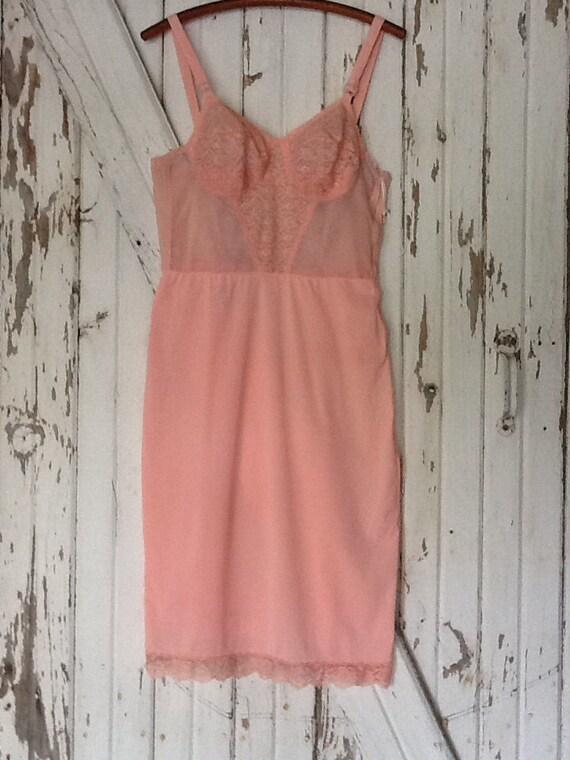 Vintage Brassiere Pink Slip A Stein & Company