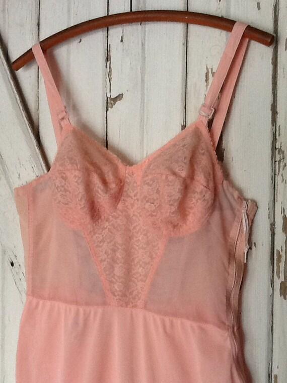 Vintage Brassiere Pink Slip A Stein & Company - image 2
