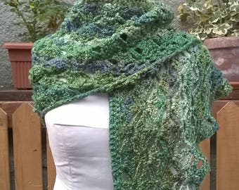 lacy shawl / crochet shawl / lacy wrap