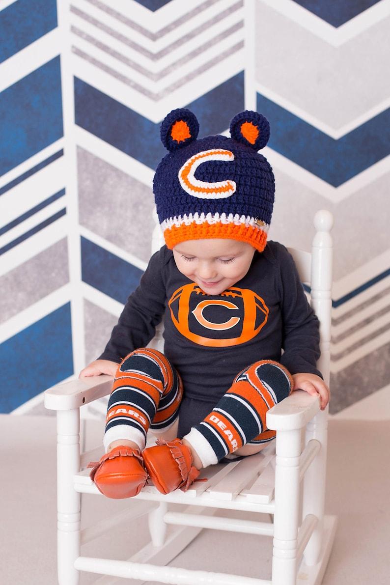 18908b986 Chicago Bears Beanie Unisex Chicago Bears Hat Baby Beanie