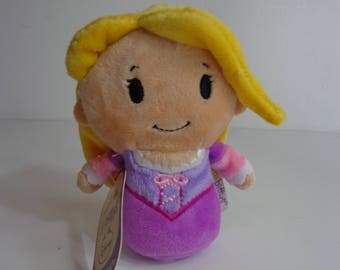 New With Tag Hallmark Disney Rapunzel Itty Bittys Princess Character Stuffed Mini Beanie Baby Toy Collectible Doll