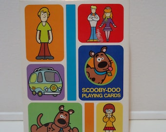 Cartoon Network Cute Scooby Doo Art Playing Cards Destash Sale! Ephemera New in Package Party Favors Gifts