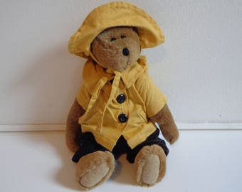Boyds Bear Bumbershoot Jodibear 20th Anniversary  Collectible Stuffed Teddy Bear Plush Gift