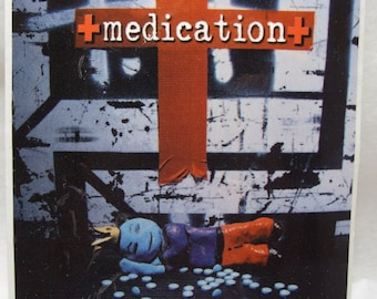 Medication Prince Valium  Sticker Album Art Promo Glossy Decal