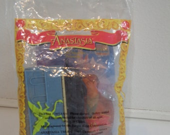 Collectible 90s Anastasia Burger King Kids Meal Dimitri Toy Train Car Mini Figure New In Package