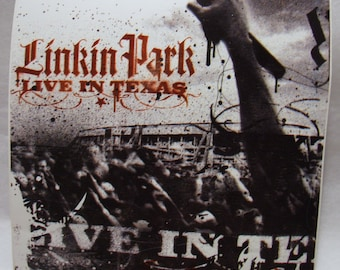 Linkin Park Sticker Live in Texas Album Glossy Official Band Art Decal Chester Bennington