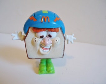 90's Collectible McDonalds Food Fundamentals Otis the Sandwich Happy Meal Toy from 1993