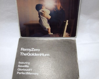 Remy Zero Sticker The Golden Hum Album Artwork Band Logo Square Sticker