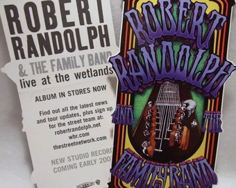 Robert Randolph & Family Band Sticker Live at Wetlands Guitar Album Art Decal