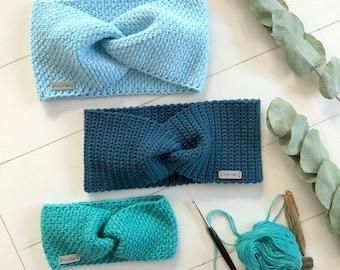 Crochet - Headband LEA - No.229E