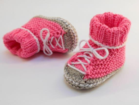 Strickanleitung Baby Turnschuhe SNEAKERS No.174 | Etsy