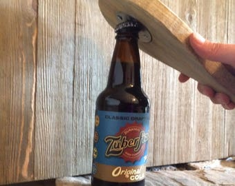 bottle opener on blue stain pine - cyber Monday sale
