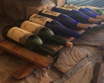Table top wine rack- 9 bottle