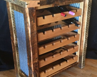 Wine Storage Rack with Pull Out Wine Shelves *FREIGHT NOT INCLUDED*