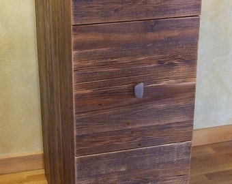 Reclaimed barn wood Rustic Heritage 3 drawer file cabinet *FREIGHT NOT INCLUDED*