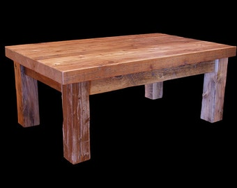 Reclaimed Barnwood coffee table *FREIGHT NOT INCLUDED*